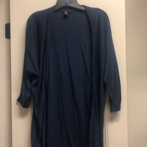 H & M Long Sleeve Duster
